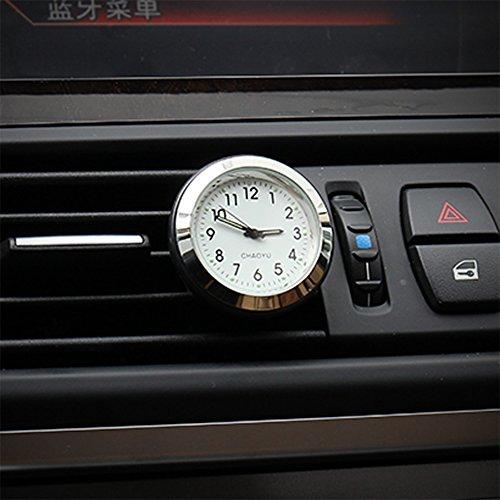 Txian Quarz Auto Uhr Air Vent Oldtimer Analog Quarzuhr (38x38x17mm) -
