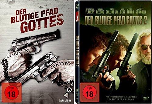 Der blutige Pfad Gottes 1 & 2 FSK 18 Set - Deutsche Originalware [2 DVDs]