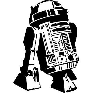 PixieBitz Cool R2D2Schablone–30,5x 20,3cm–190Mu Mylar A, Airbrush, Craft, Droid, Roboter, Star Wars