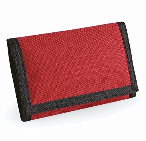 Bagbase-Ripper-Portafogli con portamonete, espandibile Rosso rosso