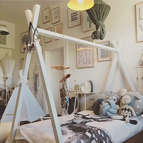 Solenzo Tipi - Cama Infantil con somier y colchón
