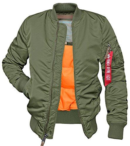 Women MA-1 VF 59 Fliegerjacke sage green - XS