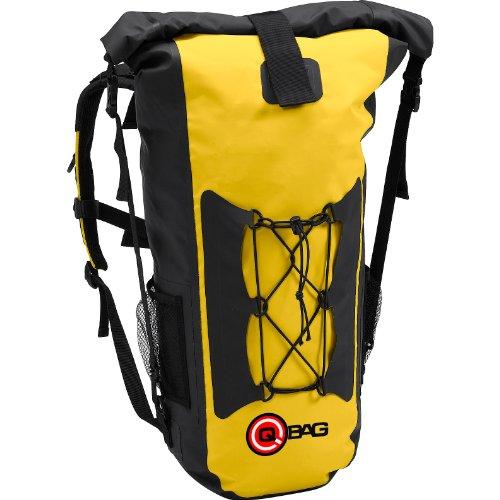 QBag Motorradrucksack Rucksack 05, wasserdicht, staubdicht, widerstandsfähig, reißfest, Gute Rückenbelüftung, Rollverschluss, integrier...