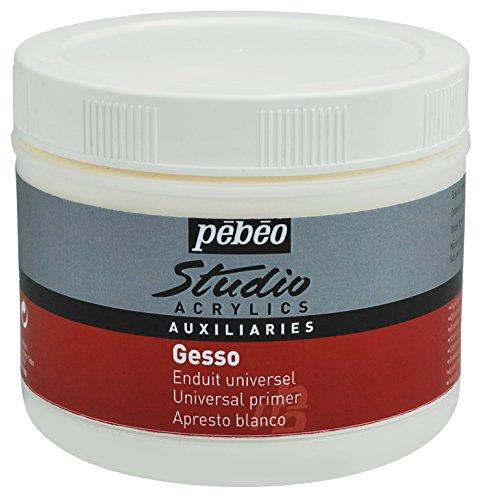 pebeo-524102-acrylic-studio-gesso-500-ml