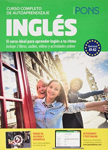 Curso Pons Inglés.2 libros+4CD+DVD (Cursos Pons Autoaprendizaje) por Pons Idiomas
