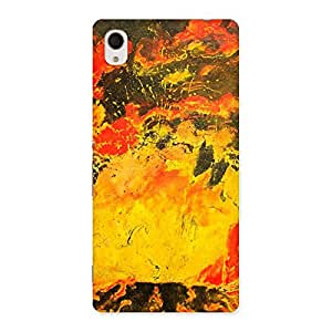 Special Modern Art Paint Print Back Case Cover for Sony Xperia M4
