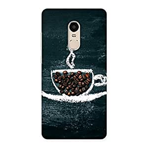 NEO WORLD Cup Coffee Back Case Cover for Xiaomi Redmi Note 4