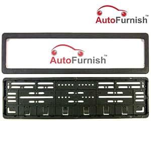 Autofurnish High Security Car Number Plate Frame Folding for Car ?