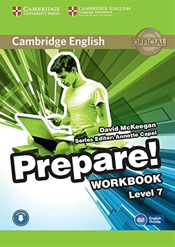 Cambridge English Prepare! Level 7 Workbook with Audio por David McKeegan