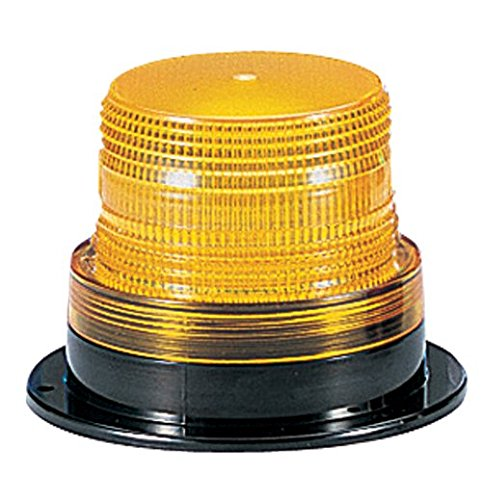 Federal Signal LP6-012-048A Streamline Low Profile Mini Strobe Light, Surface Mount, 12-48 VDC, Amber by Federal Signal -