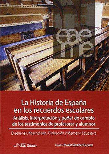 Historia de españa en los recuerdos escolares,La