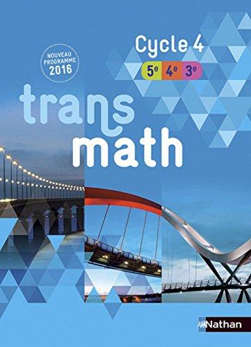 Transmath Cycle 4 - Nouveau programme 2016