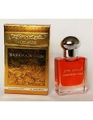 oudi par al haramain Parfum Base 15ml Huile–Oud Oudh Attar