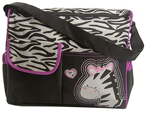 El bolso multifuncional de momia tiene varios bolsillos para guardar todas las cosas de tu bebé. El diseño simple y divertido va bien con la mayoría de la ropa  Material: tela de poliéster oxford Tamaño del producto: aproximadamente 38 x 16 x 32 cent...