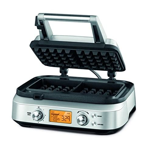 51zmBotBVGL. SS500  - Sage BWM620UK the Smart Waffle Maker - Silver