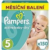 Pampers - Active Baby 5 Junior (11-18kg) Pack mensuel - 150pcs