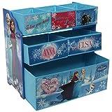 Disney Frozen Eiskönigin Regal aus Holz mit Aufbewahrungsboxen Aufbewahrungsregal