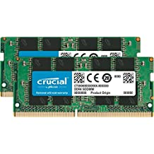 Crucial CT2K8G4SFS824A - Kit de memoria RAM de 16 GB (8 GB x 2, DDR4, 2400 MT/s, PC4-19200, SRx8, SODIMM, 260-Pin)