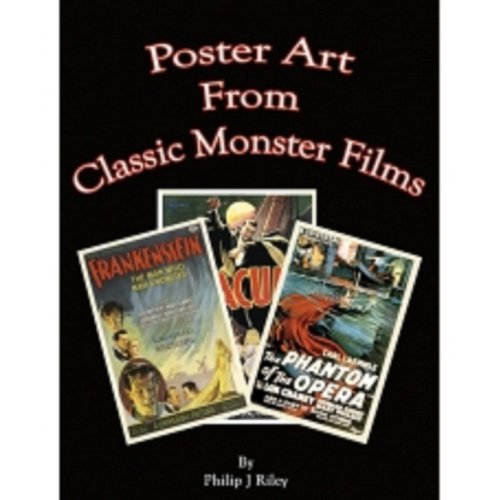 POSTER ART FROM CLASSIC MONSTER FILMS (English Edition) -