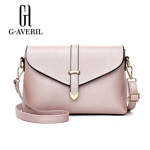 G-AVERIL, Borsa a zainetto donna Black1 Pink