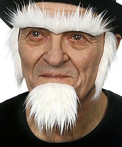 Onkel Sams Bart, Koteletten und (Erwachsenen Sam Onkel Kostüme Erwachsene)