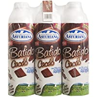 Central Lechera Asturiana Batido Cacao - Paquete de 6 x 1000 ml - Total: 6000