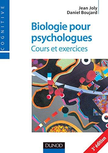 Biologie pour psychologues - 3me dition