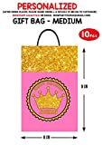 Personalized WoW Party Studio Royal Pink Princess Theme Birthday Party Return Gift /