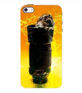 ColourCraft Funny Image Back Case Cover for APPLE IPHONE 4S