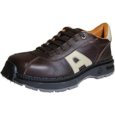 The Art Company - Zapatos de cordones para hombre marrón Grain Brown