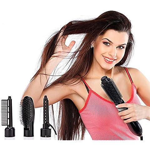 XYXY Multifunzionale styling pettine insieme a volume elettrico asciuga capelli pettine capelli ricci - Vento Fino Chiave