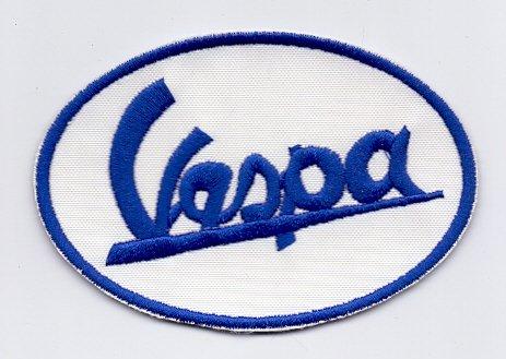 """Parche, Parches Termoadhesivos,Parche Bordado Para la Ropa Termoadhesivo, Patch """" VESPA """"Logos F1, Moto GP y Patrocinadores"""