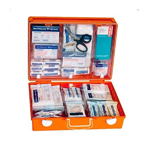 Holthaus Medical Erste-Hilfe-Koffer MULTI Verbandskasten Notfallkasten, 40x30x15cm, ÖNORM Z 1020 Typ 2