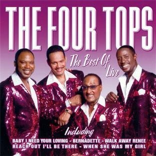 Best of Live by Four Tops (2008-04-15j - Tops-live Four