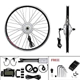 YOSE POWER E-Bike Conversion Kit Front Wheel 36V250W24'' Elektrofahrräder Umbausatz Vorderrad 24 Zoll mit LCD Display
