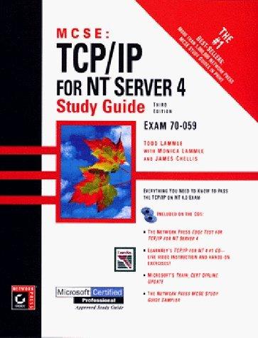MCSE: TCP/IP for NT Server 4 Study Guide by T Lammle (1998-05-01) par T Lammle