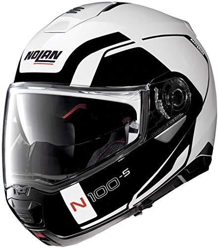 Nolan N100-5 Consistency N-Com Metal White XL