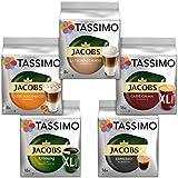 Tassimo  Vielfaltspaket - 5 verschiedene Packungen kaffeehaltiger Getränke, 1er Pack (1 x 927 g)