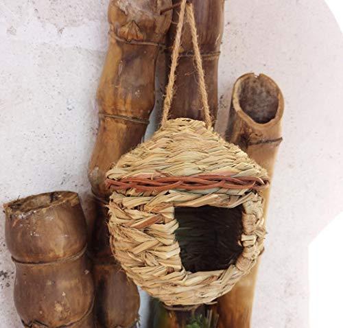YAMEIJIA Handgefertigtes Rattan gewebtes Vogelnest Großhandel Vogelhäuschen Vogelkäfig Dekoration hängende Vogelnest Imitation Vogelnest