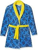 les minions Jungen Bademantel 45DEBBB108, Blau (Yellow/Blue), 5 Jahre