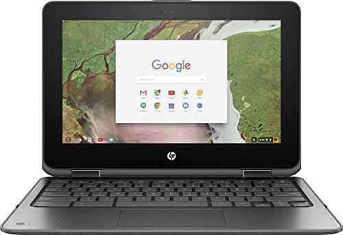 "HP Chromebook x360 (1TT13EA#ABU) - 11.6"" Laptop Intel Celeron N3350, 8GB RAM, 64GB eMMC, Touchscreen HD Display, USB 3.1, Chrom OS"