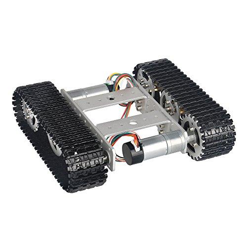 Smart Robot Car Kit Tank Chassis Roboter Intelligente Auto Plattform mit Doppel DC 9V Motor für für Arduino Raspberry Pi DIY -