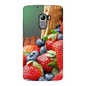 Delicious Straberry Back Case Cover for Lenovo K4 Note
