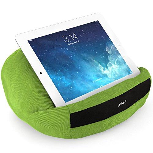 padRelax casual Lime Tablet Halter bis 10.5 Zoll, Made in Germany, für Bett, Sofa, Tisch und jedes Apple iPad, Samsung Galaxy Tab, eReader, Buch,..