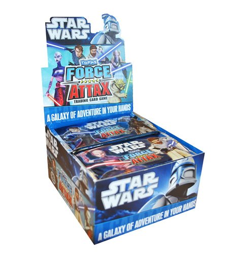 Preisvergleich Produktbild Universal Trends TO1204 - Force Attax Booster Star Wars, 50 Päckchen im Display