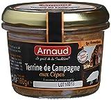 arnaud terrine de campagne aux cèpes 180 g