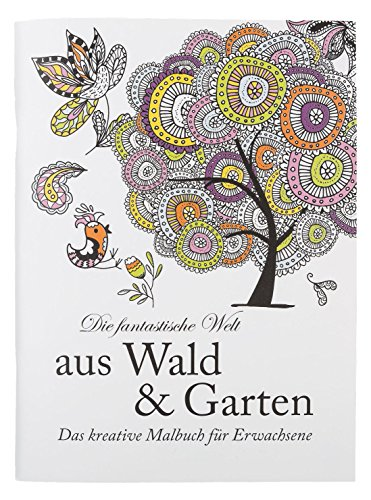 Idena Malbuch, Papier, Wald & Garten