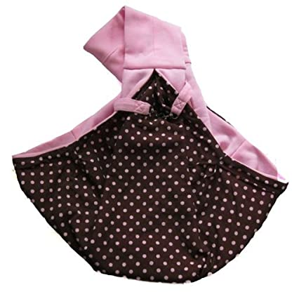 Dogloveit Chico Reversible Pet Sling Carrier, Pink 4