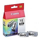 2x Druckerpatronen von Canon für I 80 (Black Patrone) I80 Tintenpatronen, 80 Seit.
