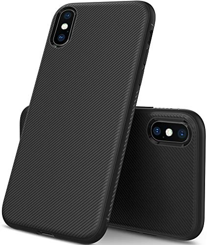 Coque iPhone XS Max - iBetter iPhone XS Max Coque , Coque iPhone XS Max, Ultra Mince Silicone Cas Solide,...